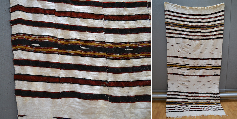 African Bukino Faso blanket • first half 20th cent