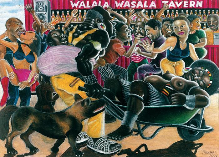 Ngikhalela izinkomo zami (I am crying for my lobola cows, 2000)