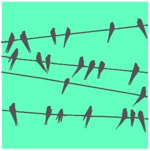 thumbnail for Birds on a wire