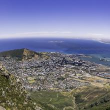 Cape Town from Lions Head at Sunset