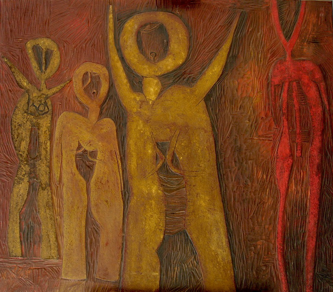 Four figures - SOLD