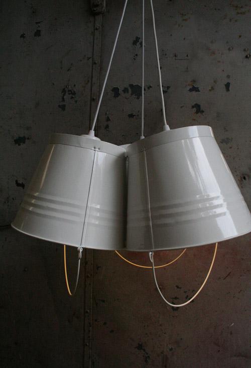 pedersen lennard bucket lights for the home pinterest. Black Bedroom Furniture Sets. Home Design Ideas