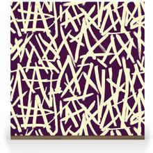 Brush on Colour - Lemon on Purple