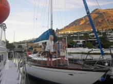 Pat has restored boats and sailed around the world