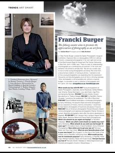 Francki Burger - Johannesburg Curator