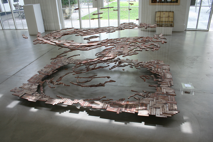 How to remember a home (2011). Installation view.
