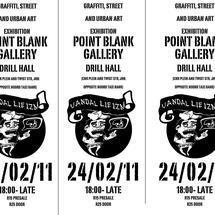 Thumbnail for 2011-02   Vandal-Lie-Izm Exhibition @ Point Blank Gallery, Johannesburg