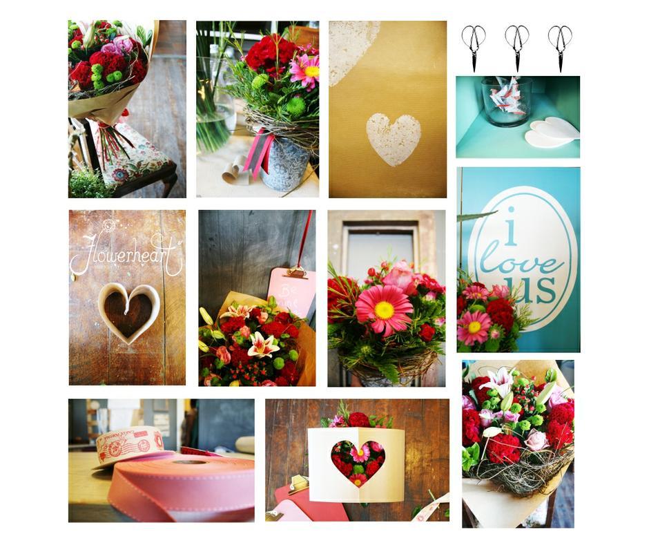 Flowerheart Valentines Day
