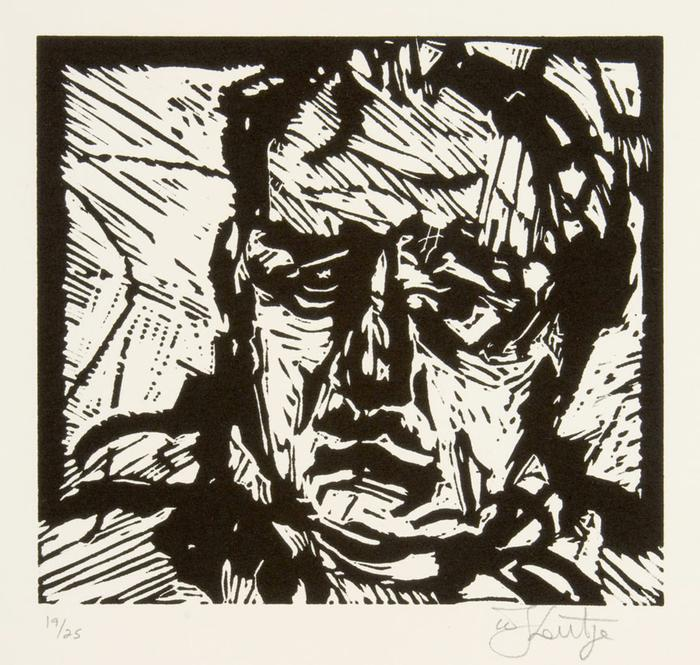 William Kentridge:  Portrait - SOLD