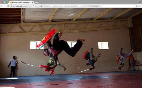 Al Jazeera (Qatar) - African orphans learn Mandarin, Buddhism and kung fu