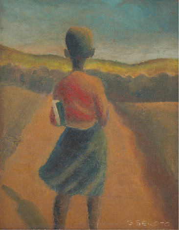 School girl, Sophiatown - SOLD