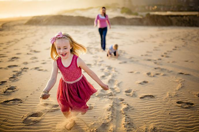 Garden Route Beach Family Shoot - Swanepoel Family