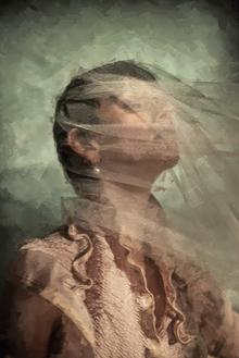 Thumbnail for LARA KLAWIKOWSKI featured in 'In the painter's studio' editorial