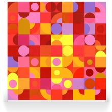 Geo Blocks - Pink