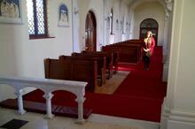 Mary in church