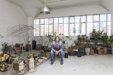 Bie Venter in her August House loft