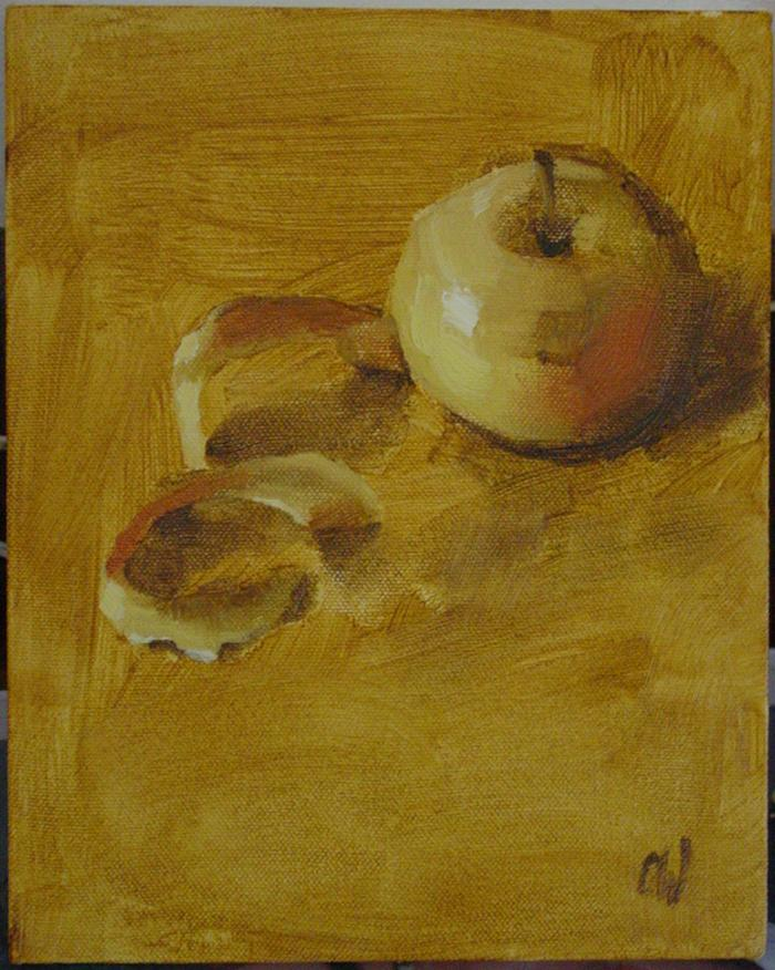 Apple with Peel