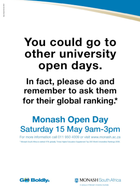 Schoolyard Media Posters for Open Day