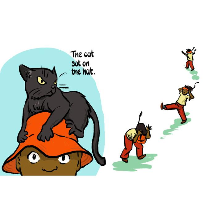 The Cat Sat On the Hat