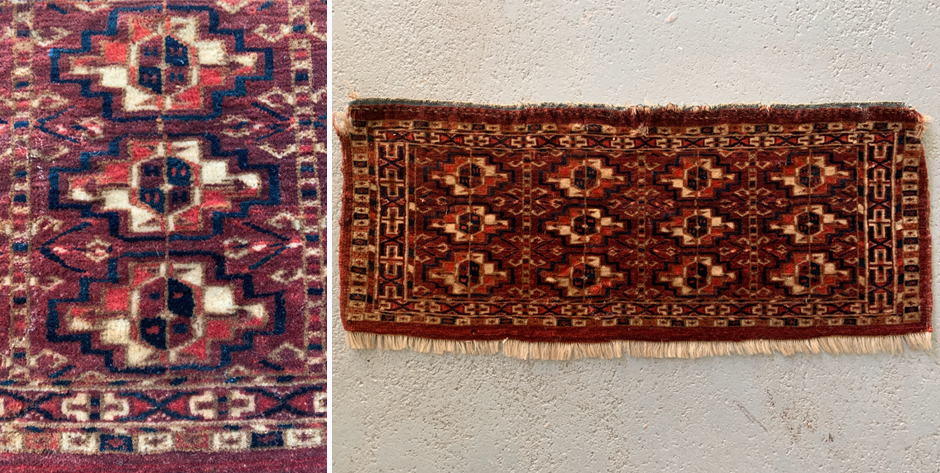Turkmen Tekke mafrash •  19th C