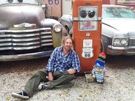 Maurice and I on Route66