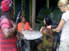 Lisa interviews Mmatshilo's best friend Kuki