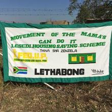 A FEDUP savings scheme banner