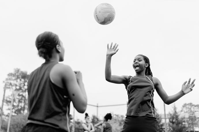 Creative & Documentary Editorial shoot for SOUTH Magazine and George Sports Academy