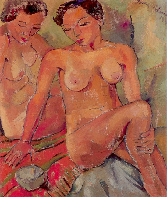Two nudes - SOLD