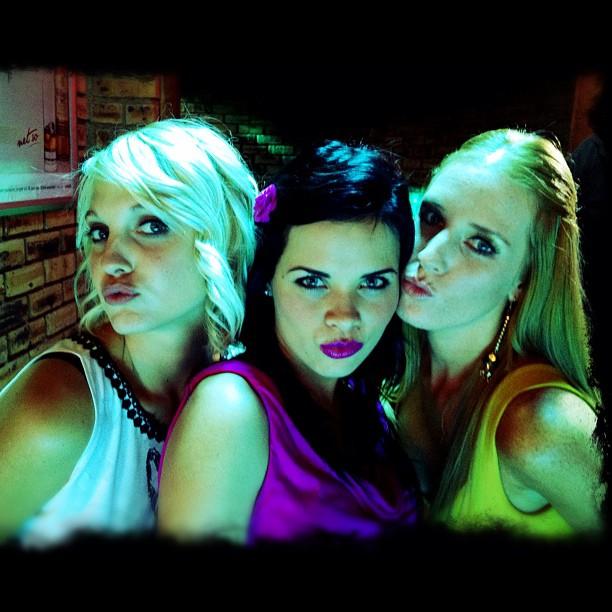The Pom Pom girls - a quick snap