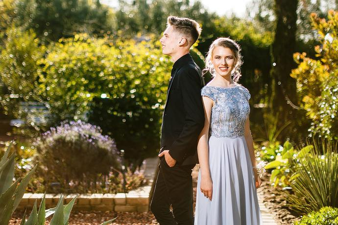 Classic and Elegant Matric Farewell Photos in the Garden Route.