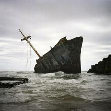 thumbnail for The Jacaranda (ran aground 1971) near Qolora Mouth | Transkei | South Africa
