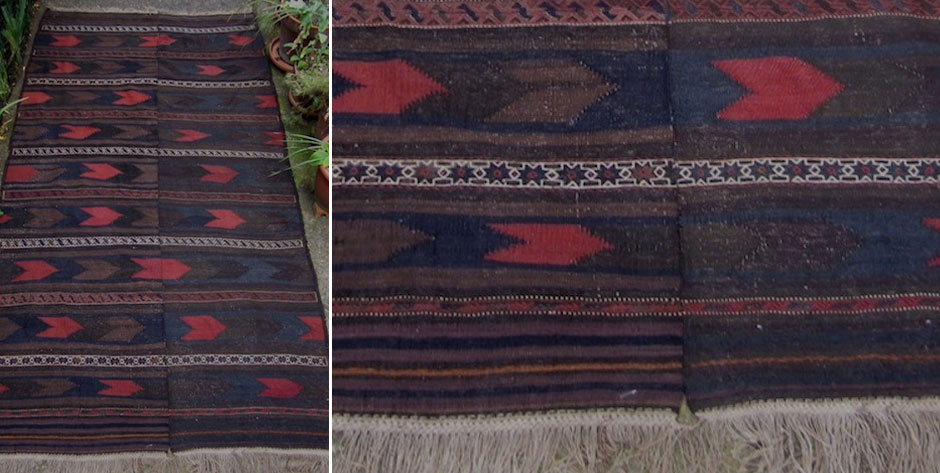 Balouch flatweave W. Afghanistan • mid 20th cent
