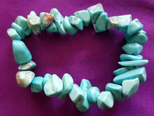 Howlite,blue(dyed), large chips