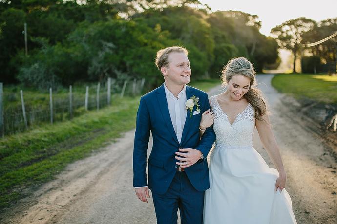 Knysna Beach Wedding - Dean & Liandi