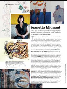 Jeanetta Blignaut - Cape Town Art Consultant