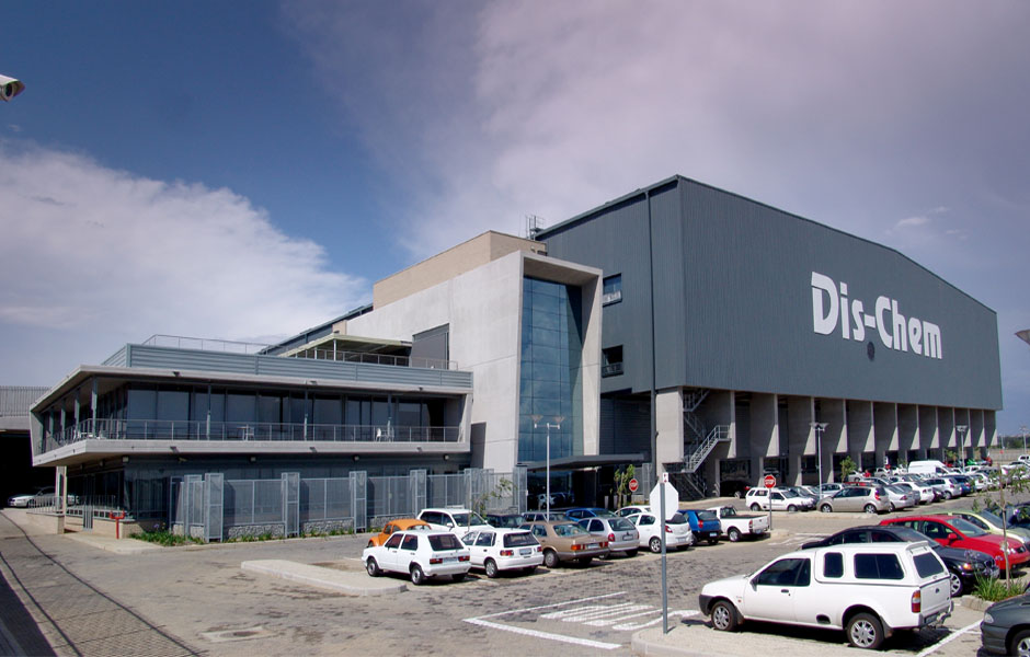 Dischem head office & distibution warehouse | midrand | 28000m²