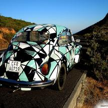 thumbnail for Street Art VW Beetle by Miguel Lomott (Germany)