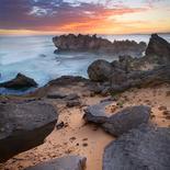 Crumbling coast