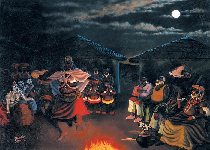 Sangoma dance (2000)