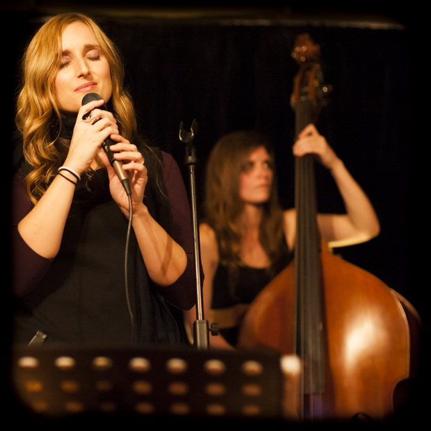 Lisa Bauer with Romy Brauteseth by Greg Hillyard, live at Mahogany Room 2012