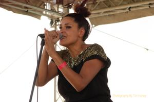 Zaki Ibrahim at Utopia Music Festival 2013, Worcester South Africa [55004]