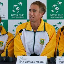 Thumbnail for DAY TWO ACTION OF THE DAVIS CUP WORLD GROUP PLAY-OFF TIE: SA v CANADA