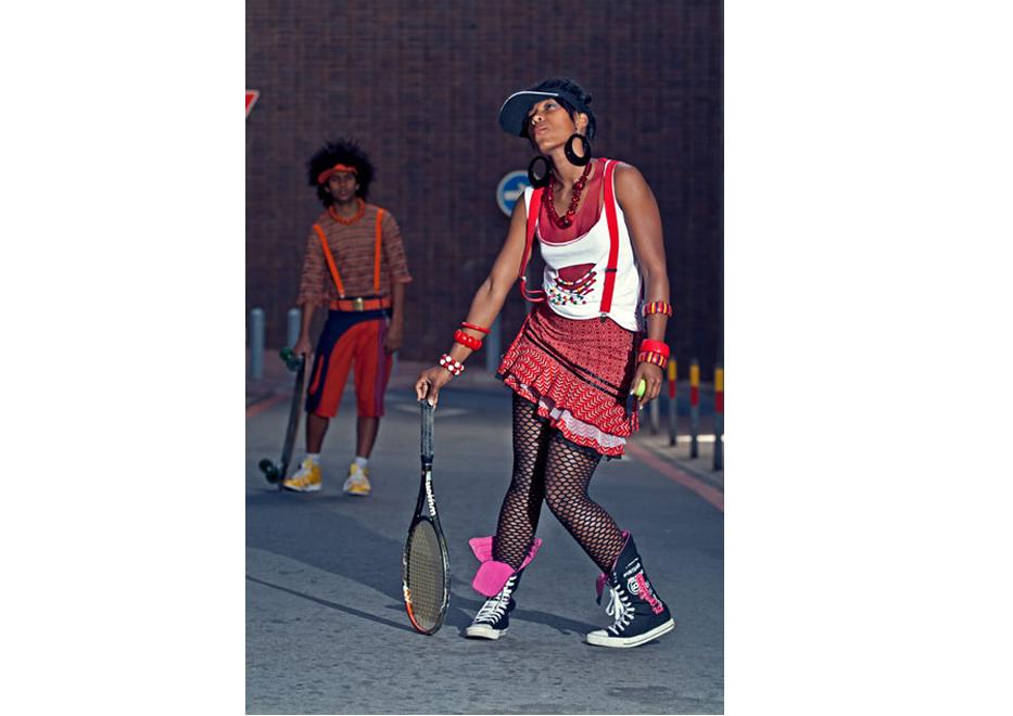 Xhosa Juku Fashion Range , Port Elizabeth , Eastern Cape .