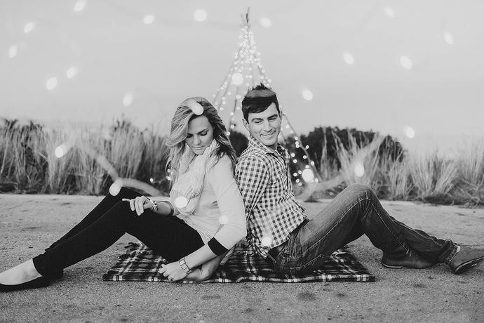Fairy Light Couple Portraits - Arno & Zarese