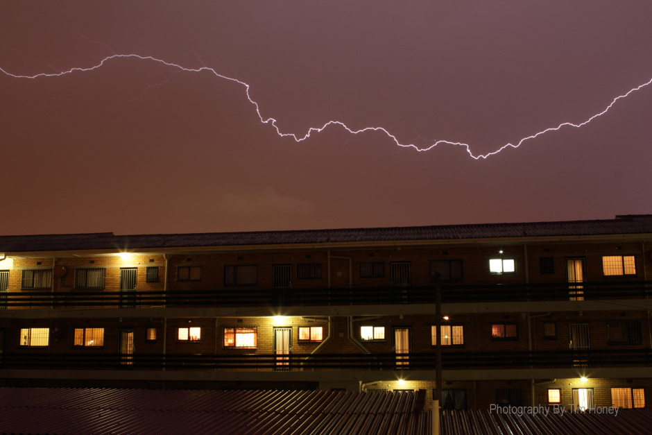 Lightning Strike over Claremont 2012 [16006]