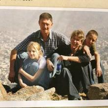The Korkie family soon after they arrived in Yemen in 2009