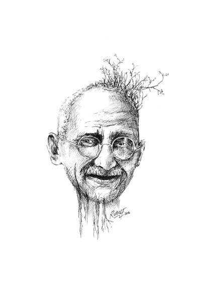 Mahatma Gandhi - Indian Civil Rights Leader
