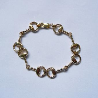 thumbnail for Horse bit bracelet