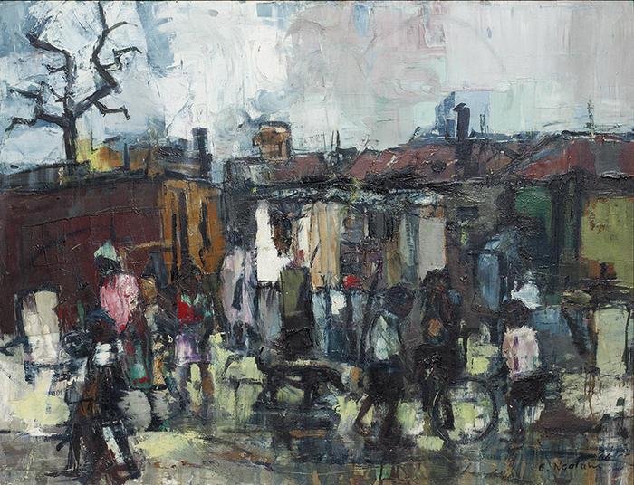 Ephraim Ngatane:  Pimville location (the slums) - SOLD